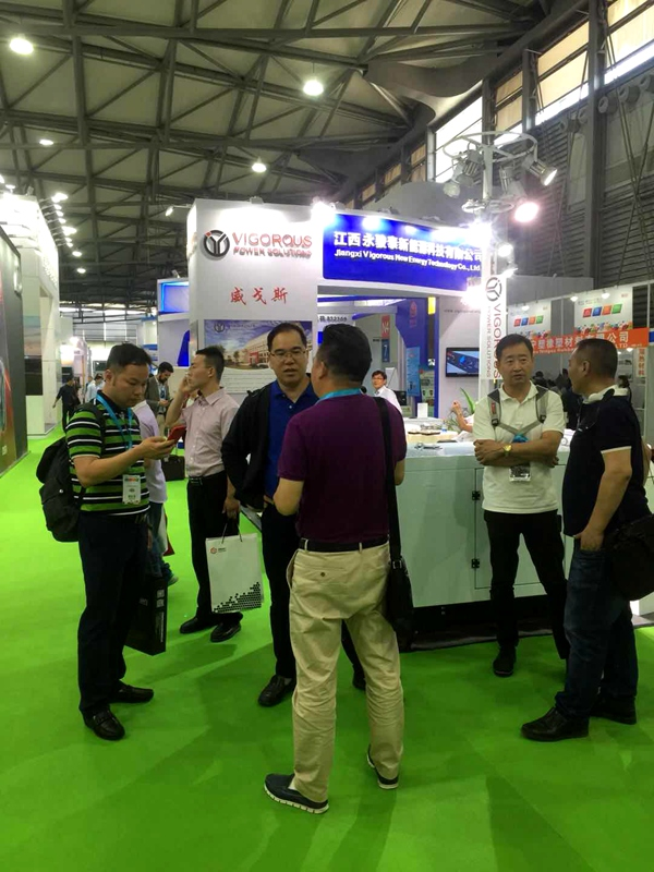 Exhibition Report | VIGOROUS appears in The 17th China (Shanghai) International Power and Generating Set Exhibition (GPOWER)
